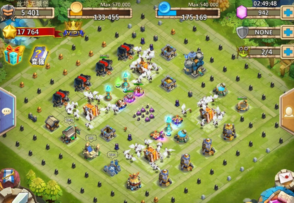 城堡争霸防御阵神坑之巨石阵攻略