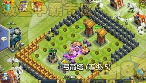 城堡争霸12本怪物攻城C关卡阵型攻略