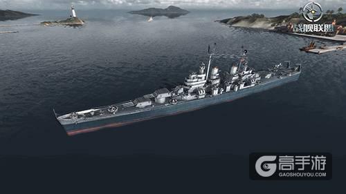 《战舰联盟》巴尔的摩级重巡 一生多为航母保驾护航