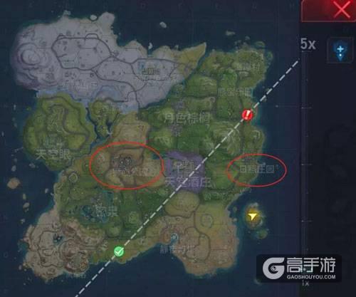 堡垒前线地图